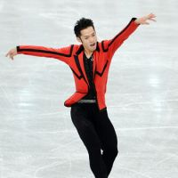 In contention: Daisuke Takahashi (above) is in second place after the men's short program, while Akiko Suzuki sits in fifth place in the women's field.