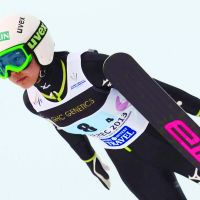 In-flight entertainment: Sara Takanashi had a 169-point lead in the World Cup standings heading into Sunday. | KYODO