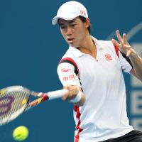 Cream of the crop: Kei Nishikori last year became the first seeded Japanese men's player at a Grand Slam event since 1973 when he was given the No. 24 seed at the Australian Open. | AP