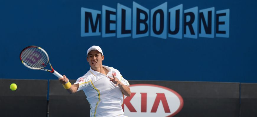 Nishikori rolls into 4th round