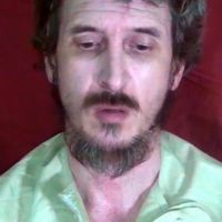 Kidnap casualty: Denis Allex urges France to negotiate his release with his captors in a video released in October. | AFP-JIJI