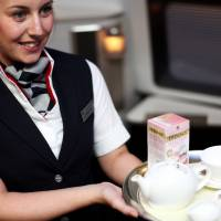 British Airways' high tea; Cathay Pacific's new lounge; Singapore Airlines' new video games