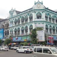 Colonial charm: Yangon is restoring many of its architectural gems from the British era.