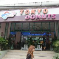 Cool Japan: Tokyo Donuts is an upscale popular cafe chain in Yangon, where increasing numbers of young people are riding the modernization and IT booms to join the monied middle classes. | JEFF KINGSTON