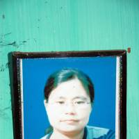 No justice: A photo of Thangjam Manorama Devi hangs on the wall of her family home in Imphal, India, recently. | THE WASHINGTON POST