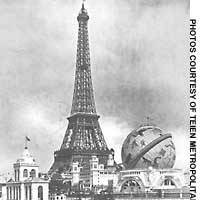 View of the 1900 'Exposition Universelle'