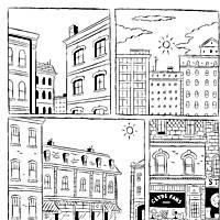 Page from 'Clyde Fans, Part 3' in 'Palookaville Number 16,' December 2002