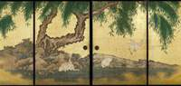 Kishi Gantai's 'White Herons and Willow Trees at the Waterside' (1844) would have made steamy summers at the Kotohira Shrine seem more bearable.