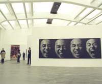 Interior of the newly opened Ullens Center for Contemporary Art in Beijing | EDAN CORKILL PHOTOS