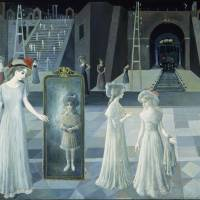 Paul Delvaux's stuff of dreams