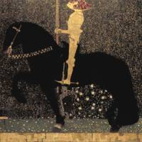 Gustav Klimt's 'Life is a Struggle (Golden Rider),' (1903) | AICHI PREFECTURAL MUSEUM OF ART
