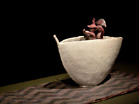 A journey through a landscape of clay