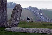 Despite it being one of the wonders of the prehistoric world, visitors to Stonehenge in southwest England must contend with constant disturbance from a nearby major road, such as may soon be the case with the Hill of Tara in Ireland.