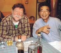 Eiji Nakahara and Old Nic in happier times. | KURODA PHOTO