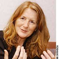 Director Sally Potter in Tokyo