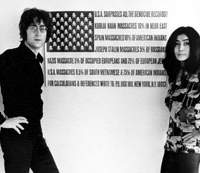 Giving peace a chance in 'The U.S. vs. John Lennon'  © LIONS GATE FILMS INC. ALL RIGHTS RESERVED