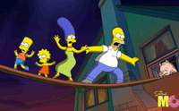 'The Simpsons Movie': Not as funny as it should be. © THE SIMPSONS TM & © TWENTIETH CENTURY FOX FILM CORPORATION. ALL RIGHTS RESERVED