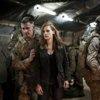 She who fights with monsters: CIA operative Maya (Jessica Chastain) faces some unpalatable realities as her team hunts for Osama bin Laden in Kathryn Bigelow's controversial Oscar-nominated movie, 'Zero Dark Thirty.' | JONATHAN OLLEY / © 2012 CTMG.ALL RIGHTS RESERVED