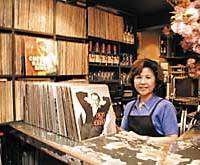 Yuri Sakanoue (above) has spent the last 27 years behind the bar of Volontaire, a jazz lovers' hideaway in Harajuku.