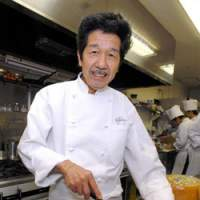 Chef Katsuki Mori is a  chevalier  of cheese, and it features in virtually all of his dishes, notably his signature Revolutionary Salad.   YOSHIAKI MIURA PHOTOS