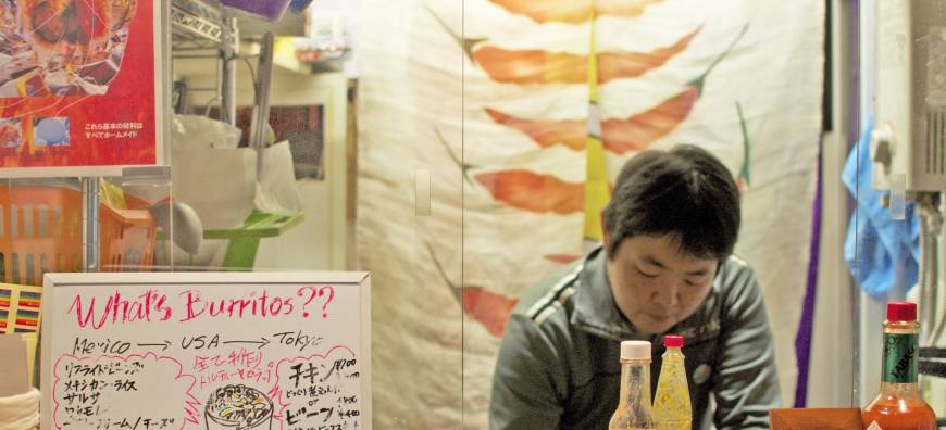 Tokyo has California-style burritos all wrapped up