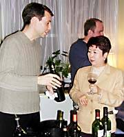 Orca's Jan Nelson pours for a 'typical Japanese wine drinker.'