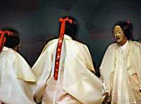 Age-old gender hangups ensure that noh performances with female casts, like this recent Tokyo staging of 'Fuji-san (Mount Fuji),' are still rare.