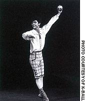 Tetsuya Kumakawa dancing his way to victory in 1989's annual Prix de Lausanne International Ballet Competition.