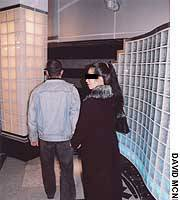 A couple enter a love hotel in Kabukicho in Tokyo's Shinjuku. If they have something to hide, they would be wise to check on who may be watching them.