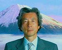 'Lion-hair' Koizumi in a TV tourism ad in April