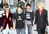 'Hiroppon' (left) and wota friends on a high after an idols encounter