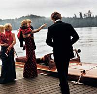 The aristocratic world of Ralph Lauren as depicted in a 1999 ad campaign