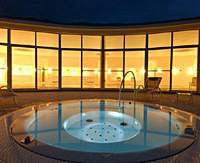 A deep-sea water Jacuzzi at the Utoco Hotel in Shikoku