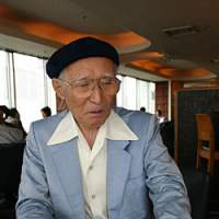 Iwo Jima veteran Satoru Omagari, whose account of his experiences there that still give him nightmares appears here for the first time in English. | DAVID McNEILL PHOTO