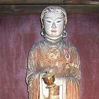 A STATUE in Asuka-dera, Nara Pref., of 604's Confucian Constitution author Prince Shotoku | CHRIS 73/ WIKIPEDIA PHOTO