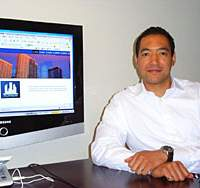 Company president E. Takashi Norris looks to take real estate to new levels of challenge and responsibilty.