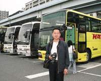'It's important for Chinese to see other countries and study them,' says Mr. Zhang, from Suzhou near Shanghai, who was participating in the Hato Bus tour with his family. | EDAN CORKILL PHOTOS
