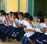 Room to Read has given 1.3 million children around the world access to schools and libraries since it began in 1999.