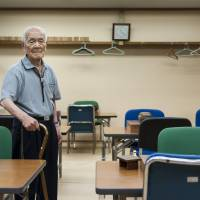 Ninety years on: Asikainen's pictures of Tokyo residents, including the 97-year-olds here, reveal the amazing youthfulness of some senior citizens. | PETRI ARTTURI ASIKAINEN PHOTO