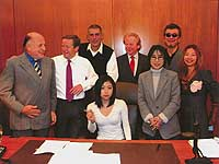 Hikaru Utada signing a record deal with Island Def Jam Music Group