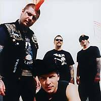 Rancid, with Tim Armstrong (center)