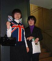 The kids have all the right fashions and accouterments at the annual Mods Mayday event in Kawasaki.
