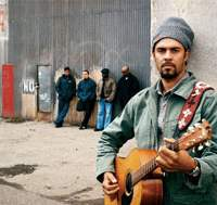 Michael Franti & Spearhead chose to make songs that get people laughing and smiling, rather than a protest album, after his trip to explore the conflicts in Iraq, Israel and the Palestinian territories.