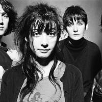 They're back: My Bloody Valentine in their former days as pioneers of what's become known as 'shoegazing' music.   © STEVE DOUBLE