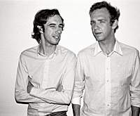 Brothers David (left) and Stephen Dewaele of 2 Many DJs