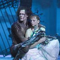 Sam Archer, in the 'Edward Scissorhands' title role, and Kerry Biggin | BILL COOPER PHOTO
