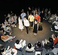 Liber Theatre company present Harold Pinter's play about love and infidelity, 'The Collection,' as part of the 'Summer Summit 2007' drama festival.