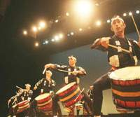 Kodo take their deafening drums on the road.