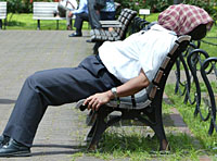 No sweat: take a few simple steps to avoid the worst effects of summer heat fatigue. | AP PHOTO