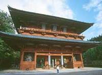 The main gate to Koya-san